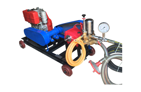 Hydraulic Test Pump Greaves Cotton Diesel Engine Driven