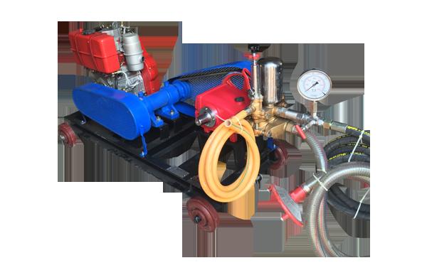 Hydraulic Test Pump Greaves Cotton Diesel Engine Driven