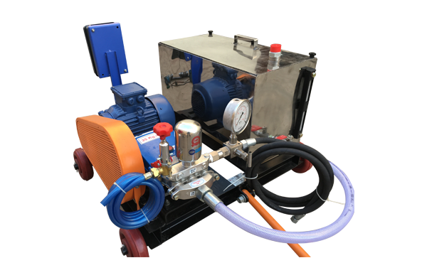 Hydro Test Jet Pump With Water Tank