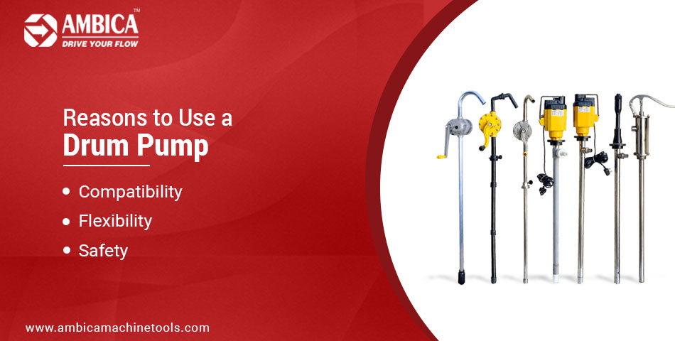 Reasons to Use a Drum Pump