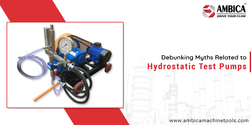 Hydrostatic Test Pump