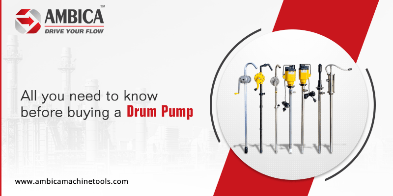 All you need to know before buying a drum pump
